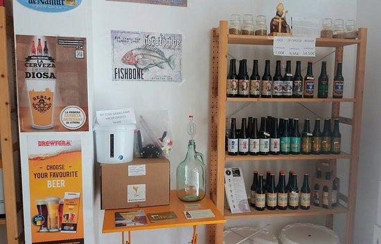 Camas, Spain: cerveza artesanal de Sevilla