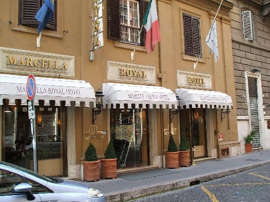 photo1.jpg - Picture of Marcella Royal Hotel, Rome ...