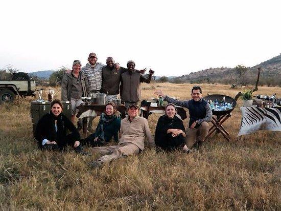 Madikwe Game Reserve, Sudáfrica: Sundowners