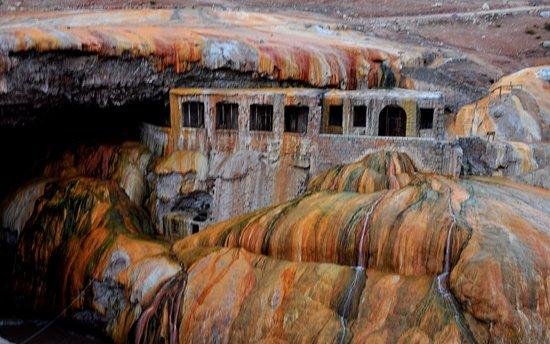 Las Cuevas, Argentina: Puente del Inca Mendoza