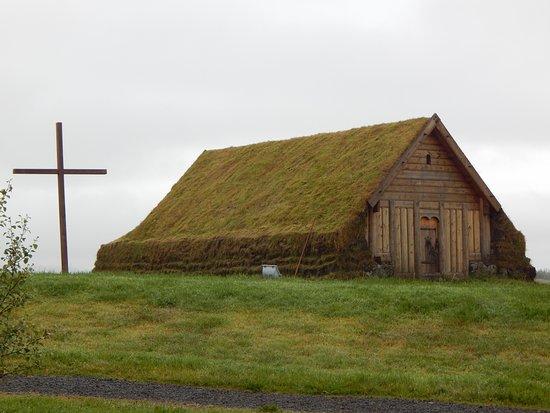 Fludir, Iceland: Church