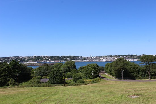 View of Cobh from Spike Island