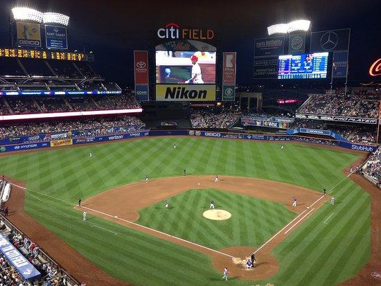 Flushing, NY: Evening shot of Citi Field