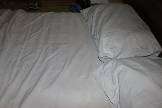 Euroclub Hotel: Bedclothes upon arrival