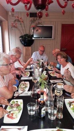 Heiloo, The Netherlands: Gezellig eten met 10 personen