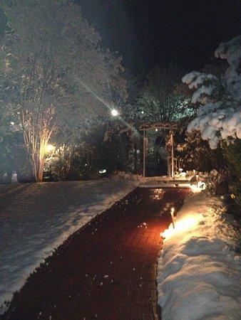 Stanardsville, VA: Winter walkway