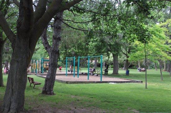 St. Catharines, Canada: The playground