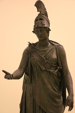 Archaeological Museum of Piraeus: Atena (em bronze)