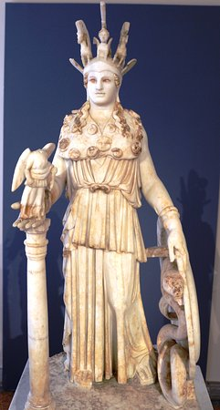 Archaeological Museum of Piraeus: Atena (mármore)