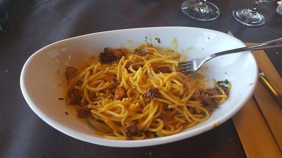 Le Brede : Spaghetti Carbonara