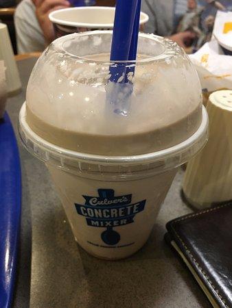 McKinney, Teksas: Chocolate shake