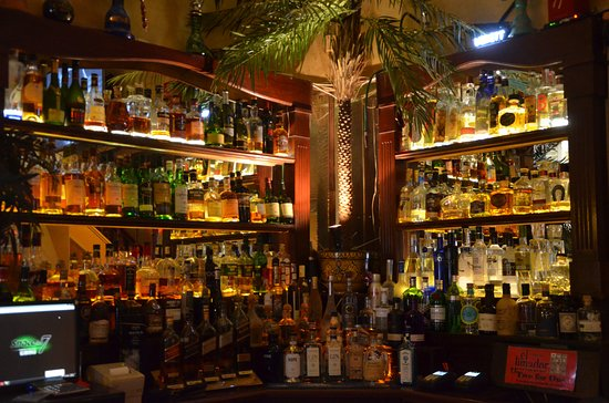 Rick's Cafe Americain: one of Cape Town's best stocked Bar