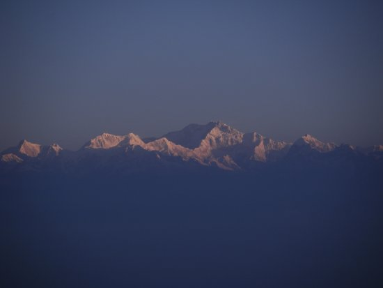 Kangchenjunga Region, Nepal: Kangchenjunga 8586m as seen from Tiger Hill