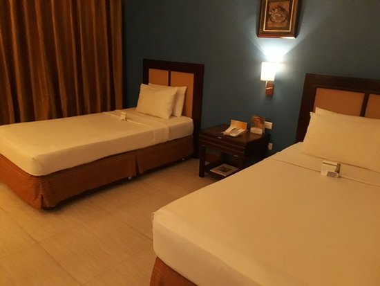 The Royal Mandaya Hotel: 2 bedded room