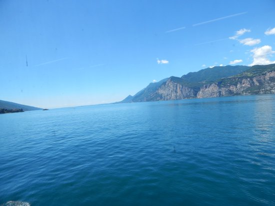 Hotel Garda - TonelliHotels: View from Ferry