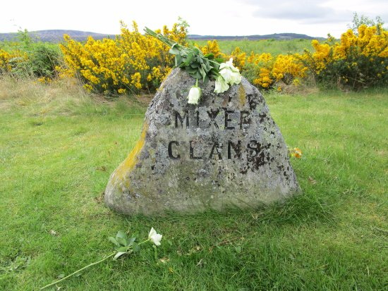 Culloden Battlefield: Mixed Clans, this was very sad