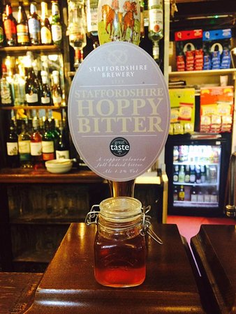 Wetton, UK: Staffordshire Hoppy Bitter