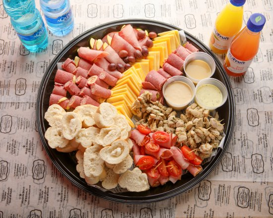 Fourways, South Africa: The Deli Platter - great for entertaining