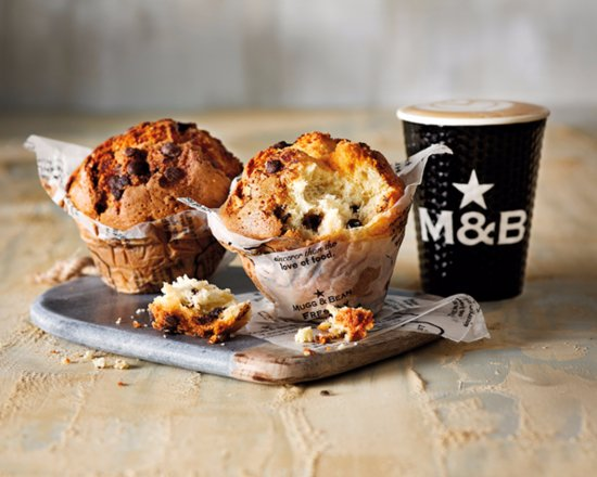 Fourways, South Africa: Our Famous Giant Muffins