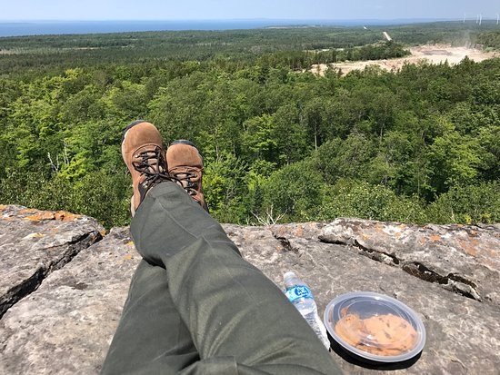 Manitoulin Island, Canadá: Quarry views and cookies