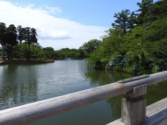 Joetsu, Japan: 大きいお堀です