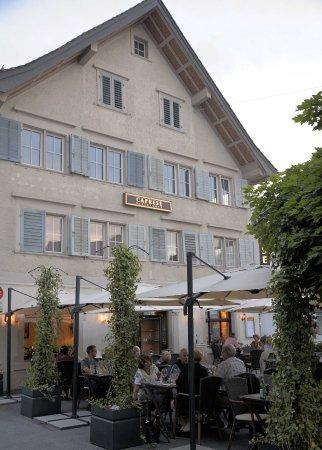 Rheineck, Schweiz: Das Ristorante
