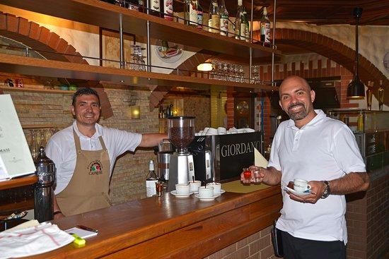 Rheineck, Schweiz: Das freundliche Personal
