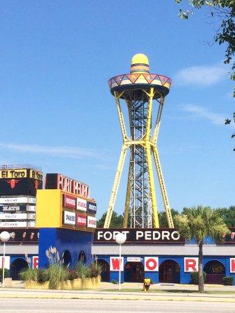Dillon, Güney Carolina: The iconic observation tower