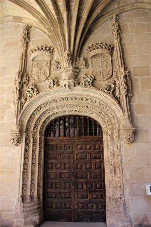 Monasterio de Santa Maria La Real: Eingangsverzierung