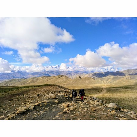 Kathmandu Valley, Nepal: On the way to Dhakmar