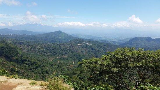 Departamento de La Libertad, El Salvador: View from the mountains