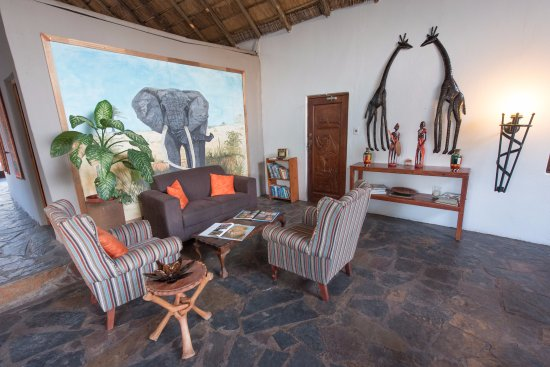 Balule Nature Reserve, Güney Afrika: our cozy lounge