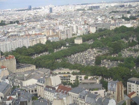 Pullman Paris Montparnasse : View of Montparnasse Cemetery