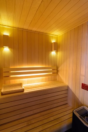 Thouare-sur-Loire, France: Sauna