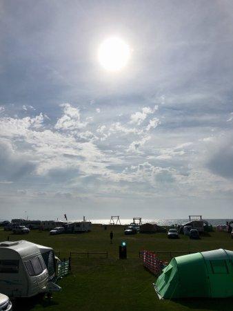 Pentewan, UK: Camping B Field no12
