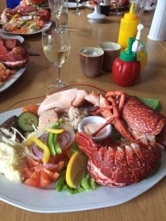 Бэнтри, Ирландия: Seafood platter!!!!!!!