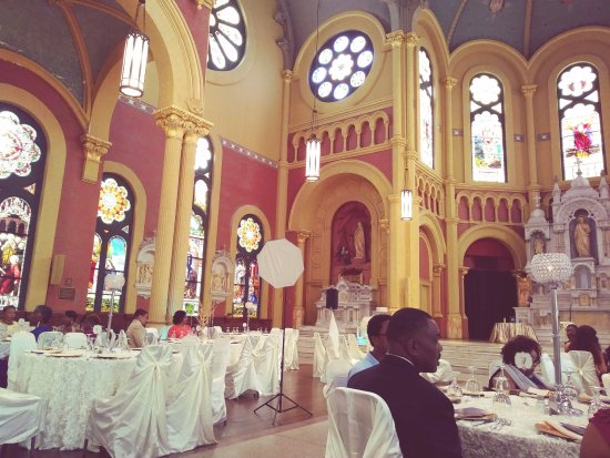 Augusta, GA: Inside doubles as reception hall for a wedding.