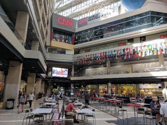 Cnn Center Food Court Restaurants