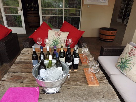 Balule Nature Reserve, South Africa: wine tatsting