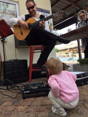 Kleinmond, Sudáfrica: Live music