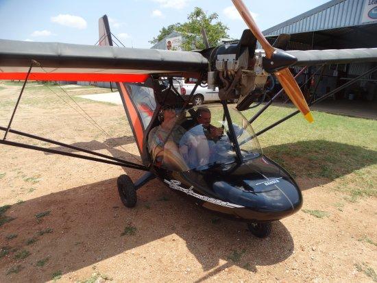 Balule Nature Reserve, Sudafrica: micro light flight