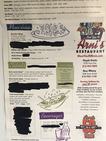 New Albany, IN: Arni's