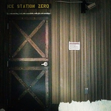 New Bedford, MA: The facade of our Ice Station Zero.