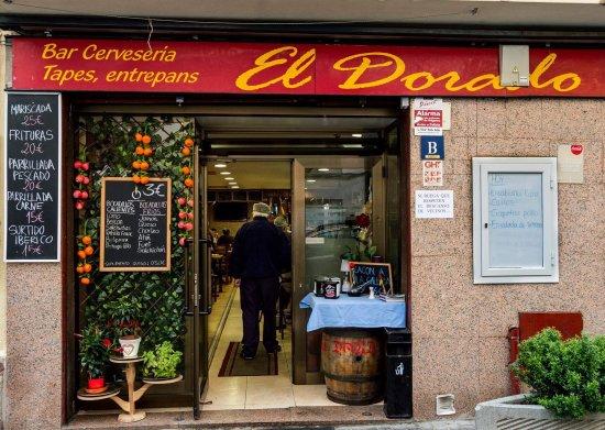 Premia de Mar, Espanha: Bar el dorado