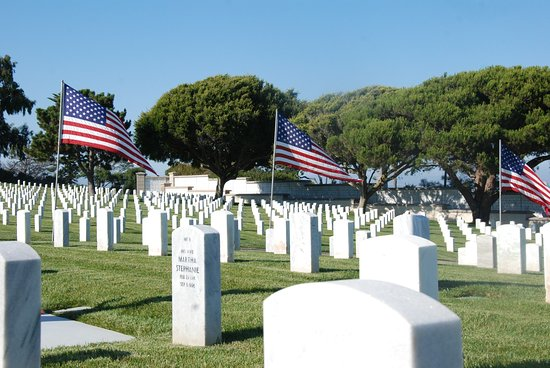 Fort Rosecrans Cemetery: Thank you for your service