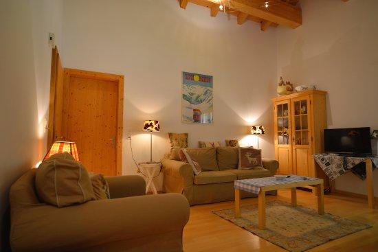 Wolfgang, Sveits: Apartment Forestview - Wohnzimmer