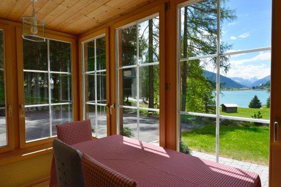 Wolfgang, Szwajcaria: Apartment Gardenview - Wintergarten