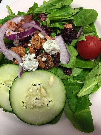 Harbor Springs, MI: Spinach Salad | Traverse City Cherries | Candied Walnuts | Plath's Bacon