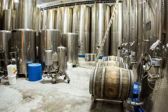 Mount Airy, MD: Steel fermentation process.