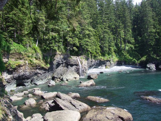 Sooke, Canada: One of several beautiful locations on our walk.